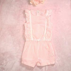 🌺3/15 Sale🌺 18M Romper Carters Pink & White